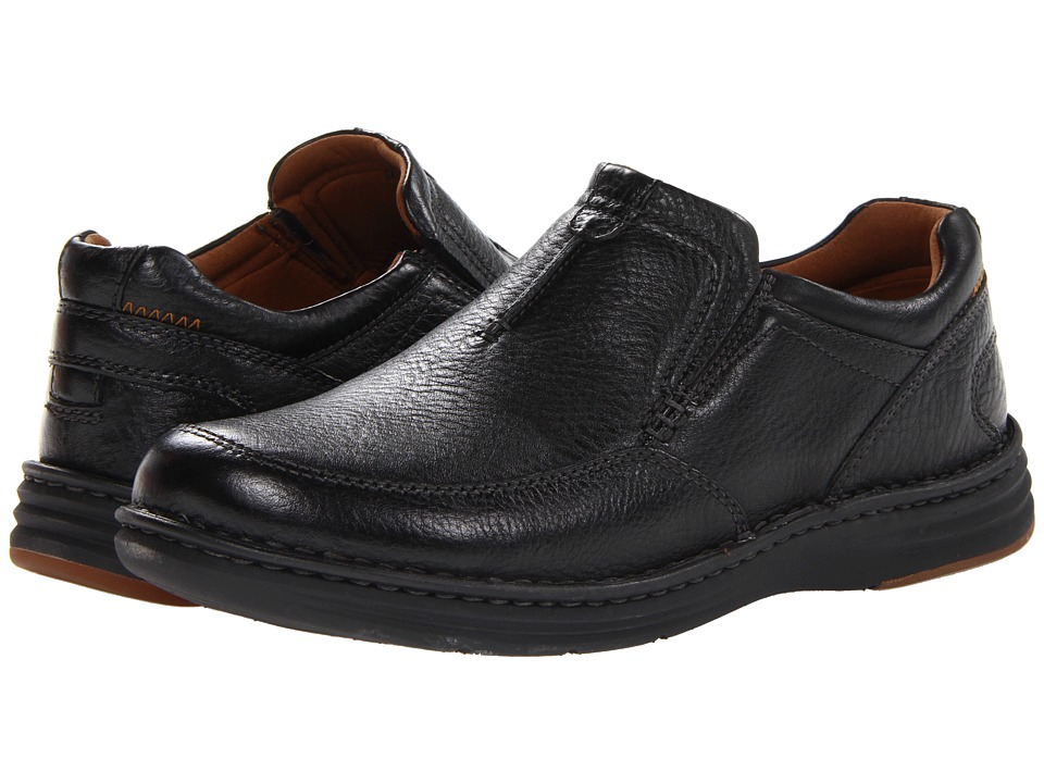Dunham - REVChase (Black) Men's Slip on Shoes