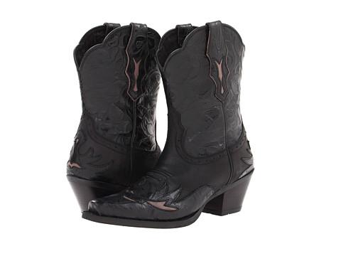 Ariat - Dahlia (Pitch Black/Ebony Floral) Cowboy Boots