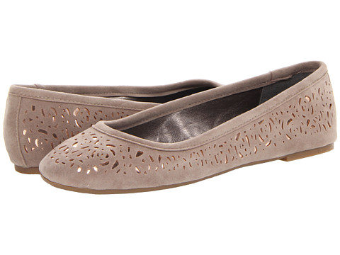 Pink & Pepper - Flower (Taupe) Women's Flat Shoes