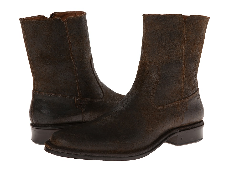 John Varvatos - Mercer Zip Boot (Sandstone) Men