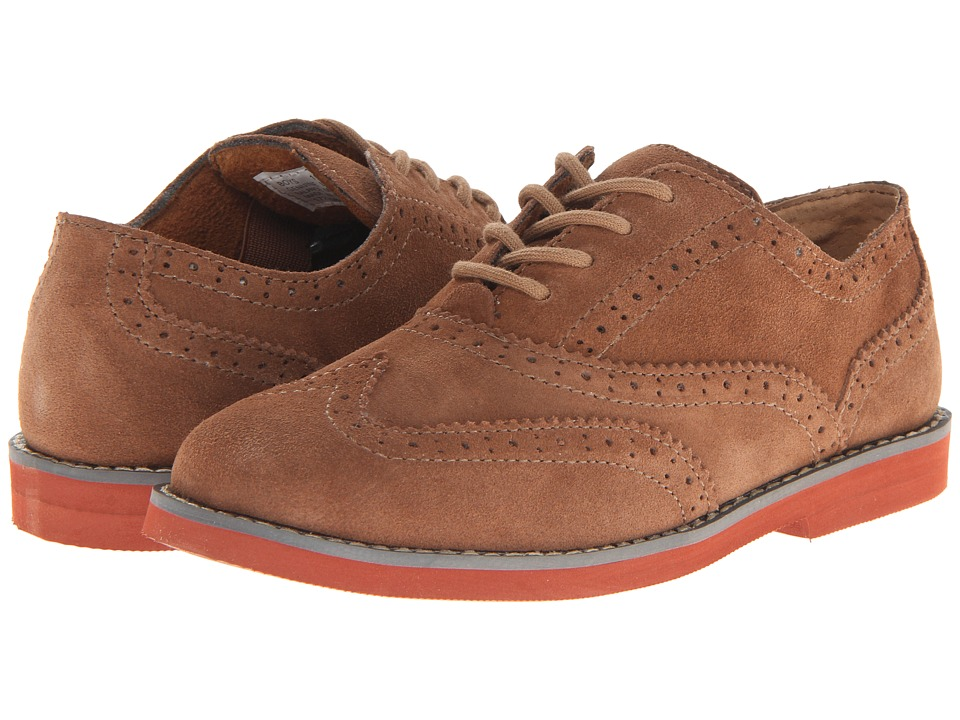 Florsheim Kids - No String Wing Jr. (Toddler/Little Kid/Big Kid) (Mocha) Boy's Shoes
