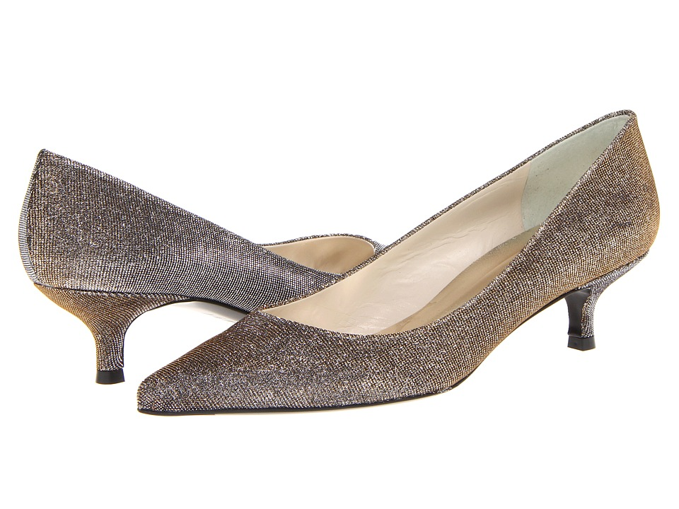Stuart Weitzman - Poco (Pyrite Nocturn) Women's Slip-on Dress Shoes