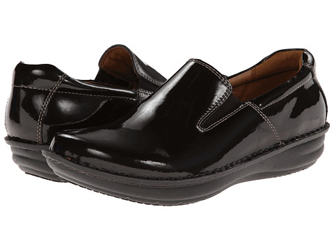 Alegria - Oz (Choco Patent) Men's Slip on Shoes