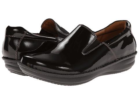 Alegria - Oz (Choco Patent) Men's Slip on Shoes