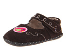 pediped Charlotte Original (Infant) (Chocolate Brown Suede)