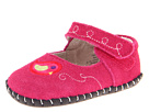 pediped Charlotte Original (Infant) (Fuchsia Suede)