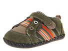 pediped Jones Original (Infant) (Hunter Green Suede/Canvas)