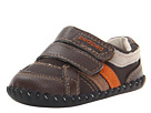 pediped Charleston Original (Infant) (XChocolate Brown Leather/Suede)