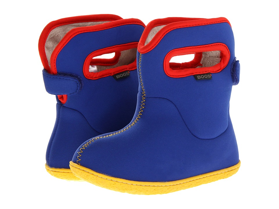 Bogs Kids - Baby Bogs Solids (Toddler) (Blue) Boys Shoes