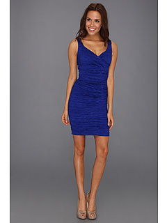 SALE! $116.99 - Save $61 on Calvin Klein Surplus Crinkle Textured Dress (Lapis) Apparel - 34.28% OFF $178.00