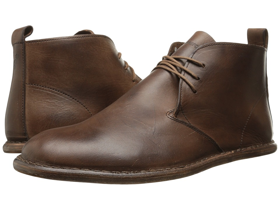 Vivobarefoot - Porto (Leather Dark Brown) Men's Shoes