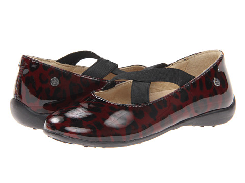 Naturino - Nat. 2815 (Toddler/Little Kid/Big Kid) (Red Leopard) Girl's Shoes