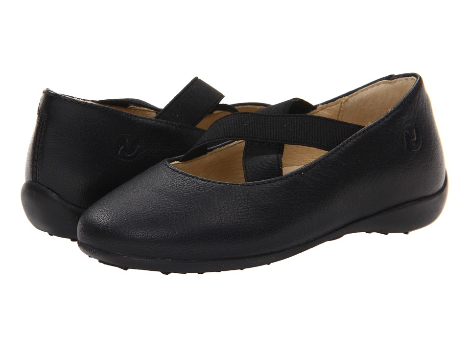 Naturino - Nat. 2815 (Toddler/Little Kid/Big Kid) (Black Leather) Girl's Shoes