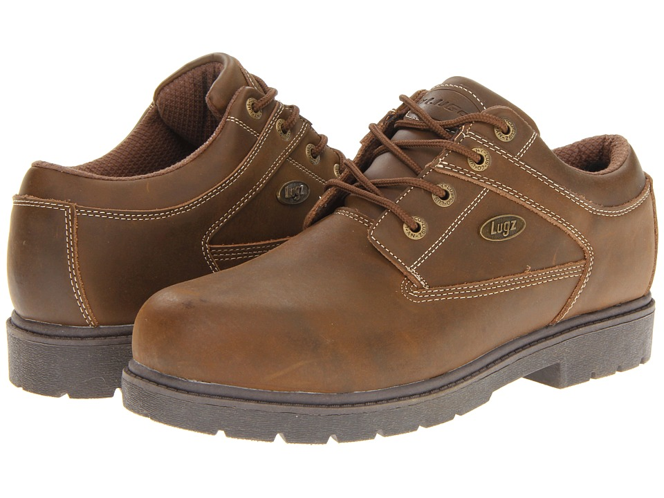 Lugz - Savoy (Brown/Light Brown Natural Leather) Men's Lace up casual Shoes