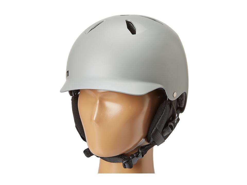 Bern - Bandito (Matte Grey w/Black Liner) Skateboard Helmet