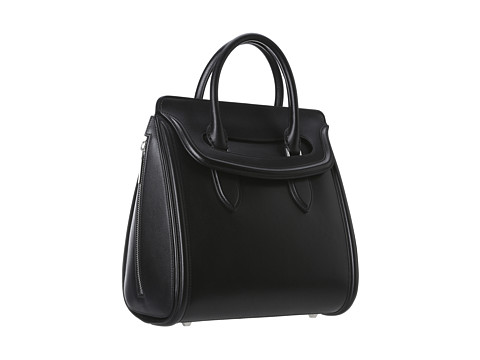 Alexander McQueen - Heroine Medium (Black 1) Satchel Handbags