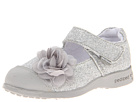 pediped Estella Flex (Toddler/Little Kid) (Silver Synthetic)