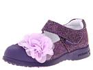 pediped Estella Flex (Toddler/Little Kid) (Purple Synthetic) Girls Shoes