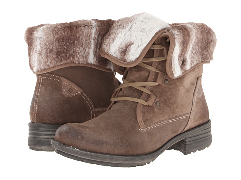 Shop Josef Seibel online and buy Josef Seibel - Sandra 04 (Taupe) Women's Lace-up Boots shoes online