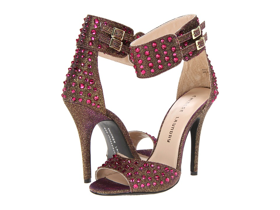 Chinese Laundry Jovial (Pink Glitz Fabric Multi) High Heels