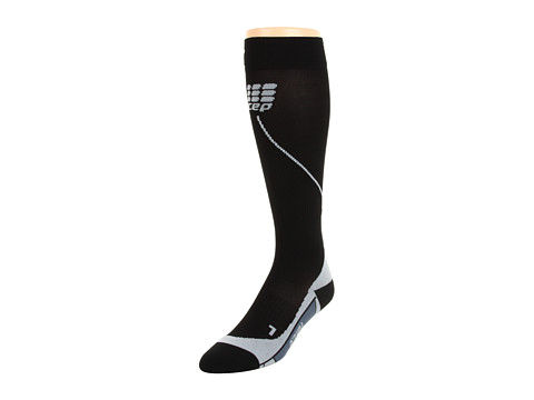 CEP - Progressive+ Run Socks 2.0 (Black/Gray) Running Sports Equipment