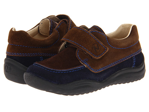 Naturino - Nat. 4226 FA13 (Toddler/Little Kid/Big Kid) (Navy/Brown) Boy's Shoes
