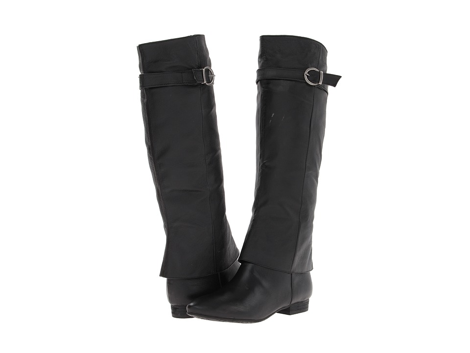 Chinese Laundry - Set In Stone (Black Leather) Women's Pull-on Boots