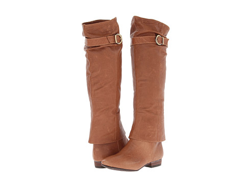 Chinese Laundry - Set In Stone (New Cognac Leather) Women's Pull-on Boots