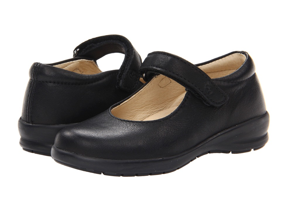 Naturino - Nat. 4465 FA13 (Toddler/Little Kid/Big Kid) (Black Leather) Girl's Shoes