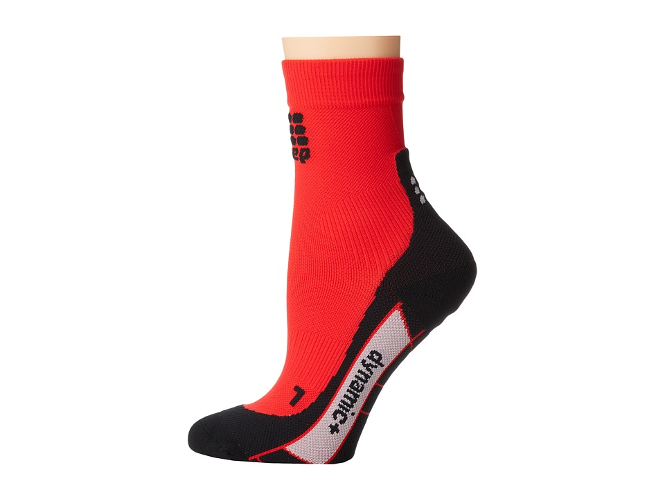 CEP - Dynamic+ Run Socks (Red/Black) Athletic Sports Equipment