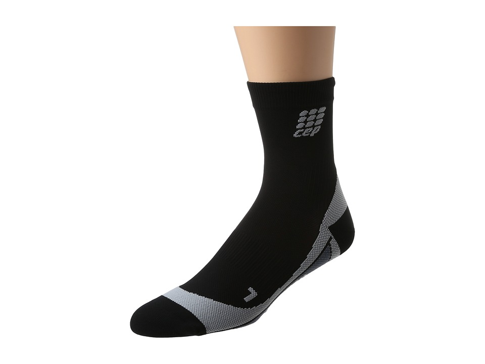 CEP - Dynamic+ Run Socks (Black/Gray) Running Sports Equipment