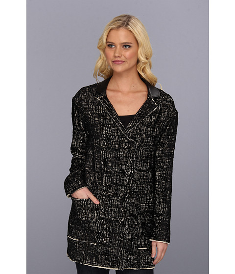 Graham and Spencer - VJJ3757 Velvet Jacquard Jacket (Multi) Women