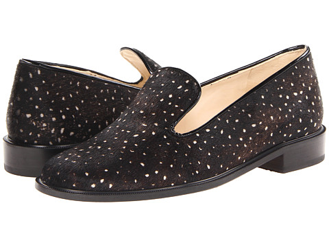 Robert Clergerie - Jasmaf (Black Pony) Women's Slip-on Dress Shoes