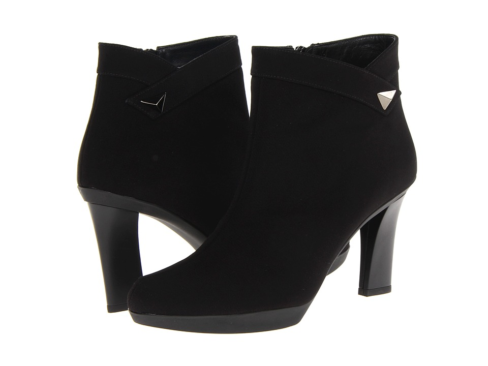 Stuart Weitzman - Nugget (Black Goretex) High Heels