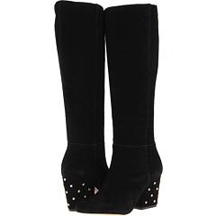 Kate Spade New York Racine (Black Suede) Footwear