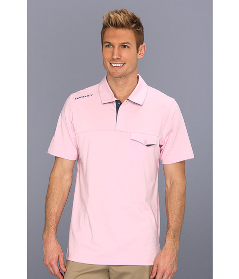 Oakley - Ellis Polo (Preppy Pink) Men's Short Sleeve Knit