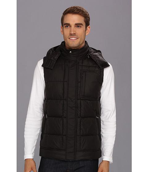 UGG - Poia II Vest (Black/Charcoal) Men