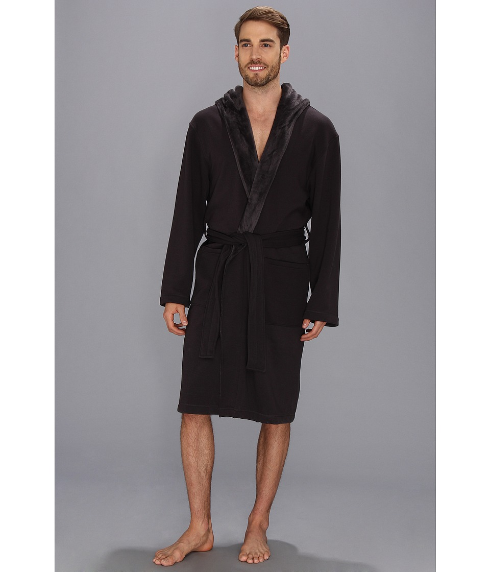 UGG - Brunswick Robe (Charcoal) Men's Robe
