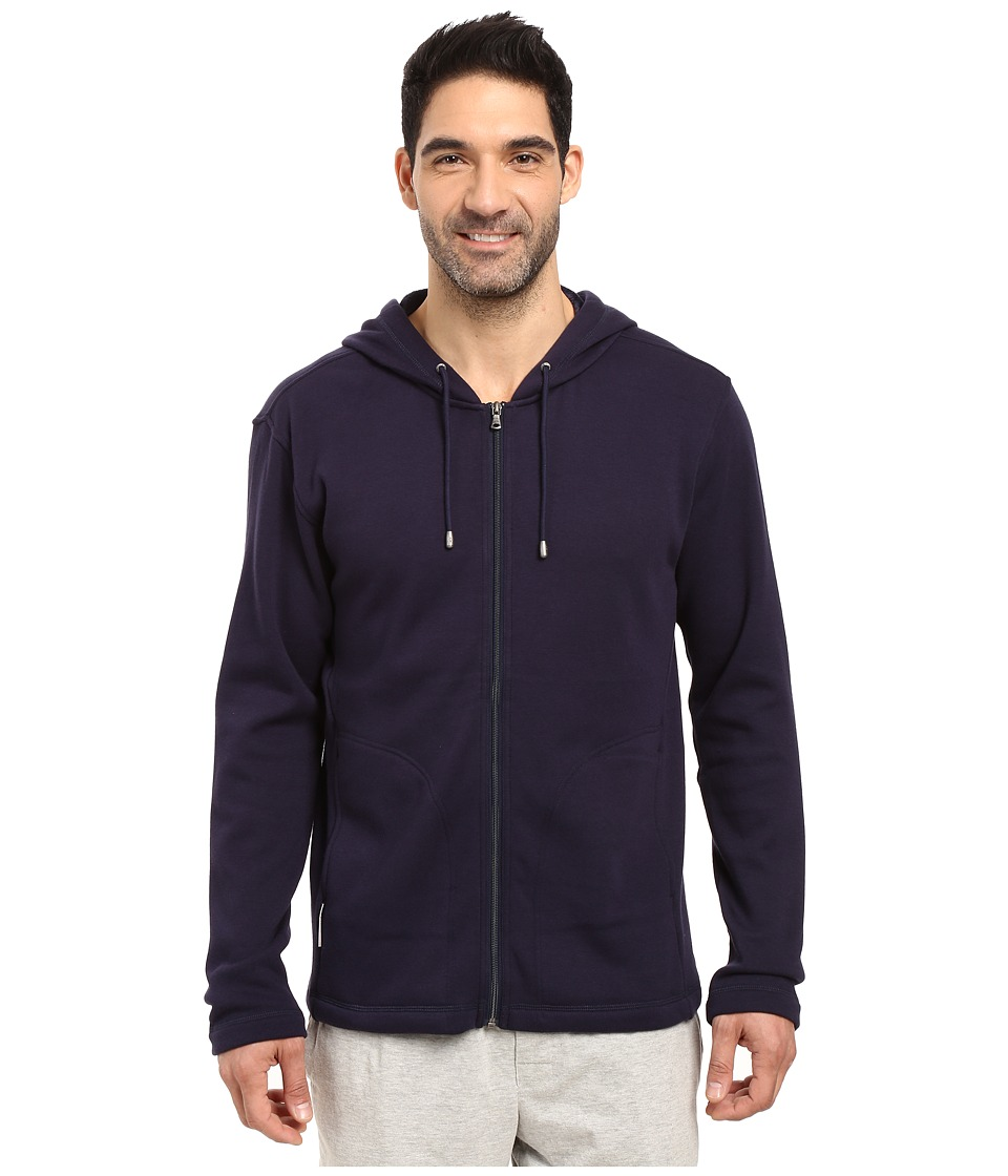 UGG - Bownes Hoodie (Navy) Men's Clothing