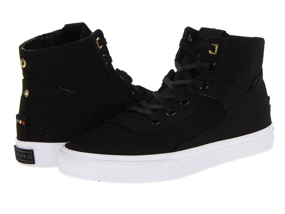 Project Canvas - Primary High (Black Canvas) Skate Shoes