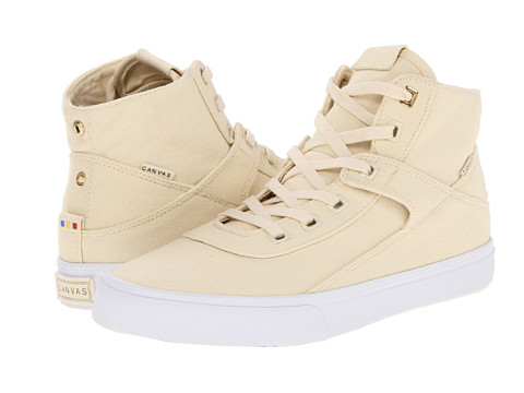 Project Canvas - Primary High (Natural Canvas) Skate Shoes