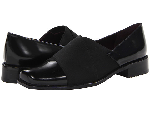 Stuart Weitzman - Recover (Jet Mirror) Women's Slip on Shoes