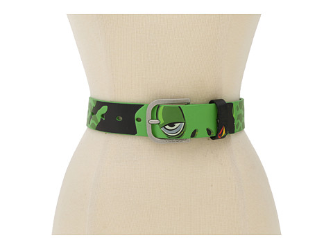 Volcom - Creature Belt (Big Kids) (Green) Men's Belts
