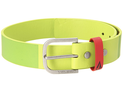 Volcom - Creature Belt (Big Kids) (Lime) Men's Belts