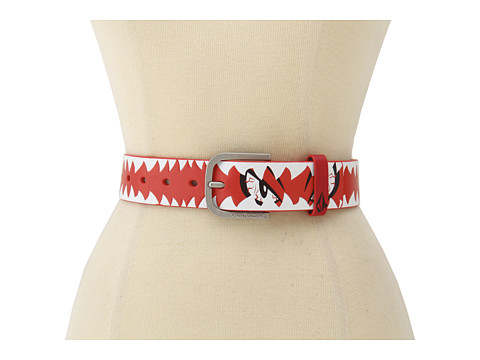 Volcom - Creature Belt (Big Kids) (Red) Men's Belts