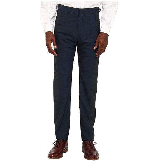 Vivienne Westwood MAN - Classic Wool Suiting Trouser (Teal) Men