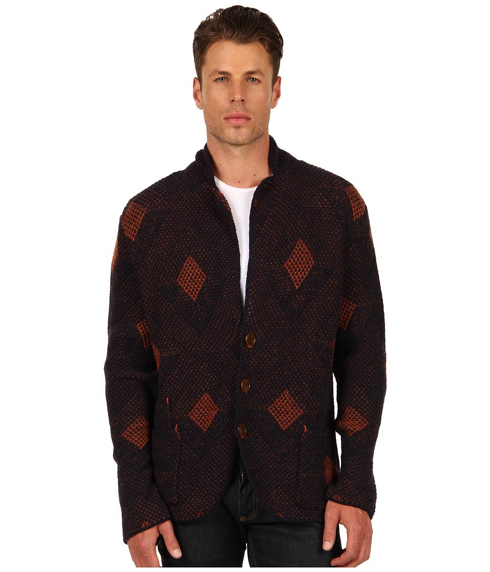 Vivienne Westwood MAN - Luxury Knitted Blazer (Multicolored) Men's Sweater