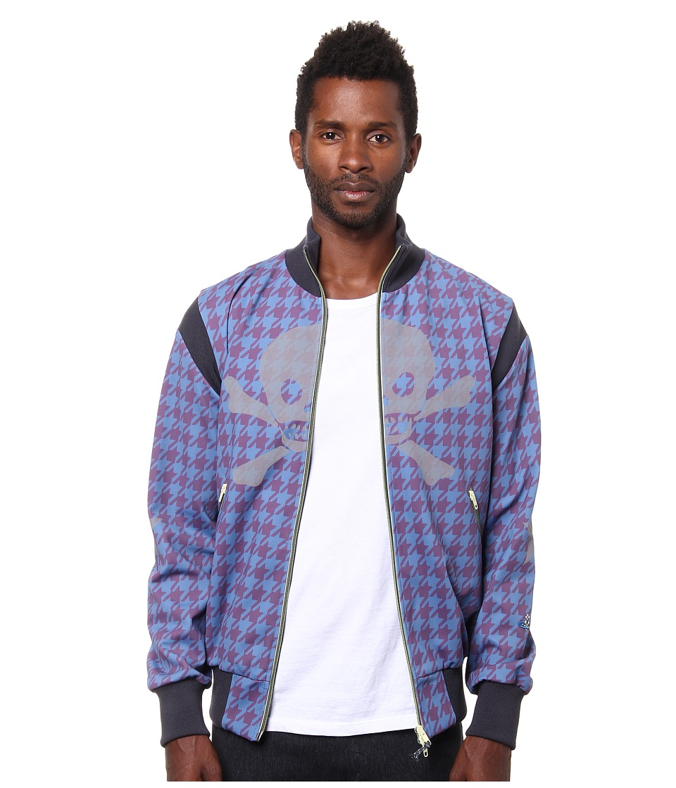 Vivienne Westwood MAN - Dogtooth Track Jacket (Plum) Men