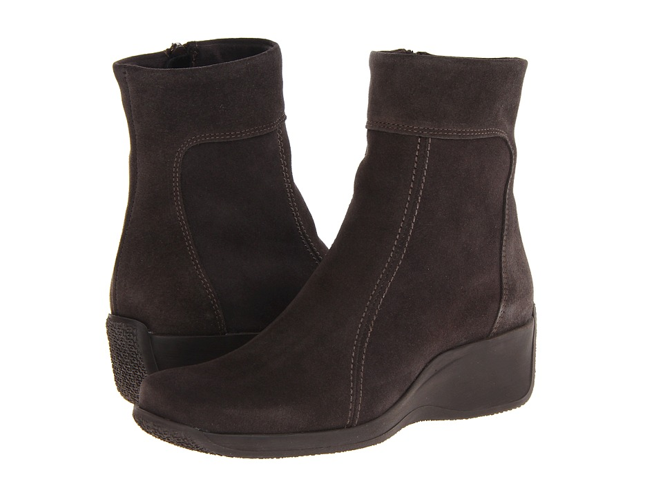 La Canadienne - Felicia (Moka) Women's Zip Boots