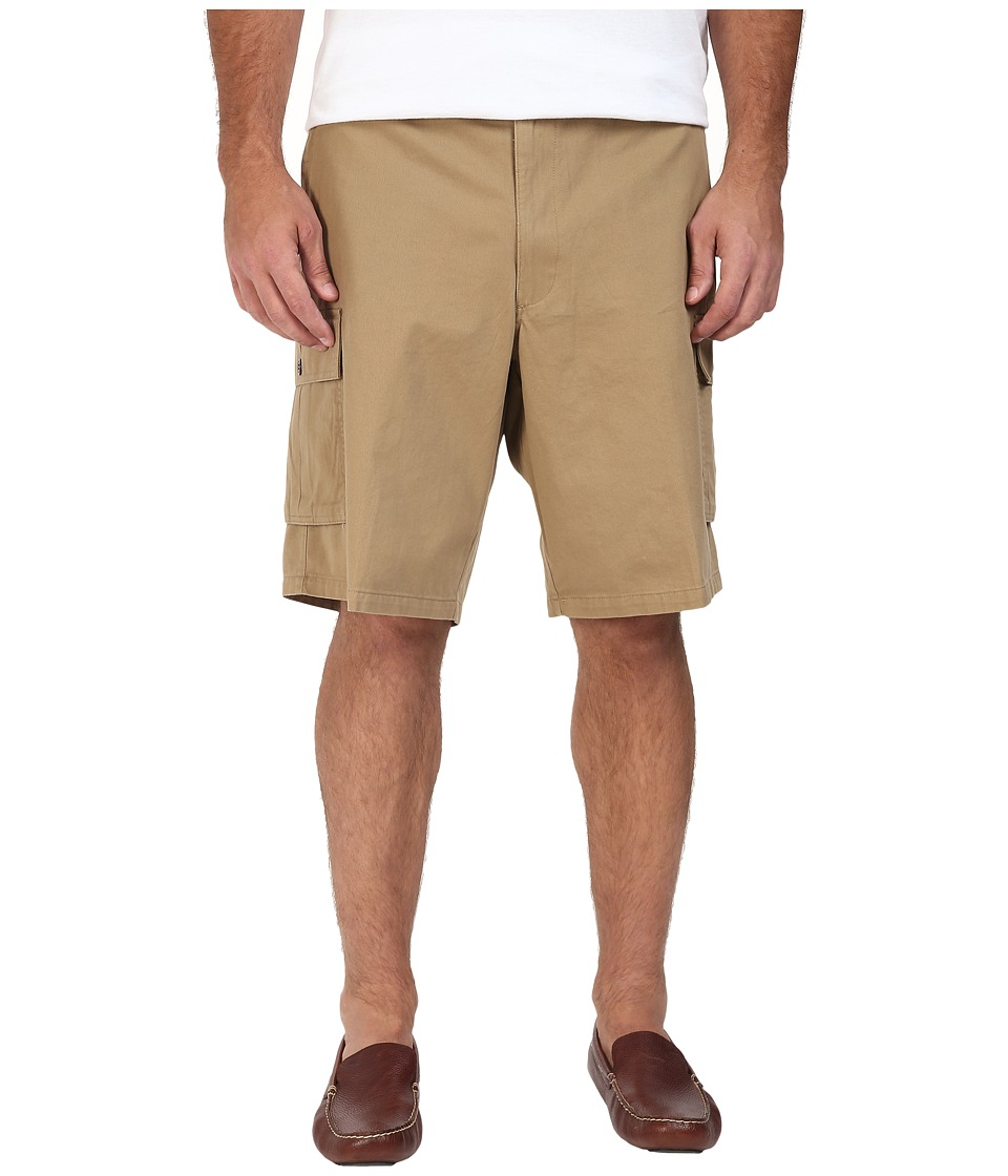 Dockers Big & Tall - Big Tall Cargo Shorts (British Khaki) Men's Shorts